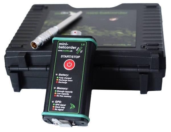 Mini-batcorder mit Koffer